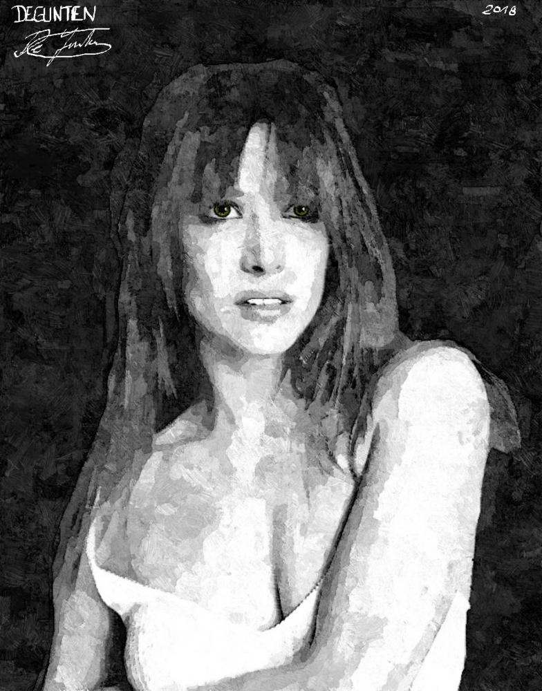 Sophie Marceau por JIM